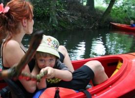 Dziecko w kajaku - Bezpieczeństwo