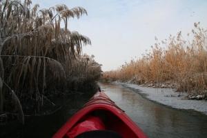 Zimowa Widawa Kajaki IMG_0647