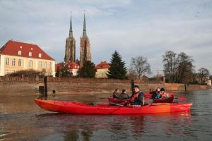 Kajaki Wroclaw Odra 10