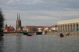 Kajaki Wroclaw Odra 22